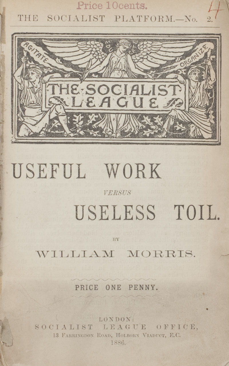 Useful Work title page