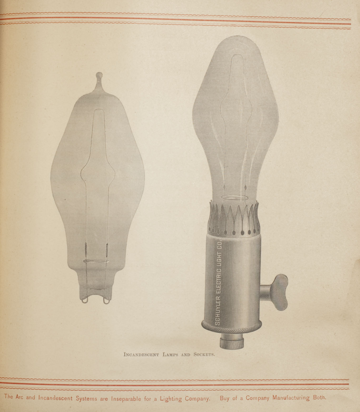 Incandescent lamps and sockets