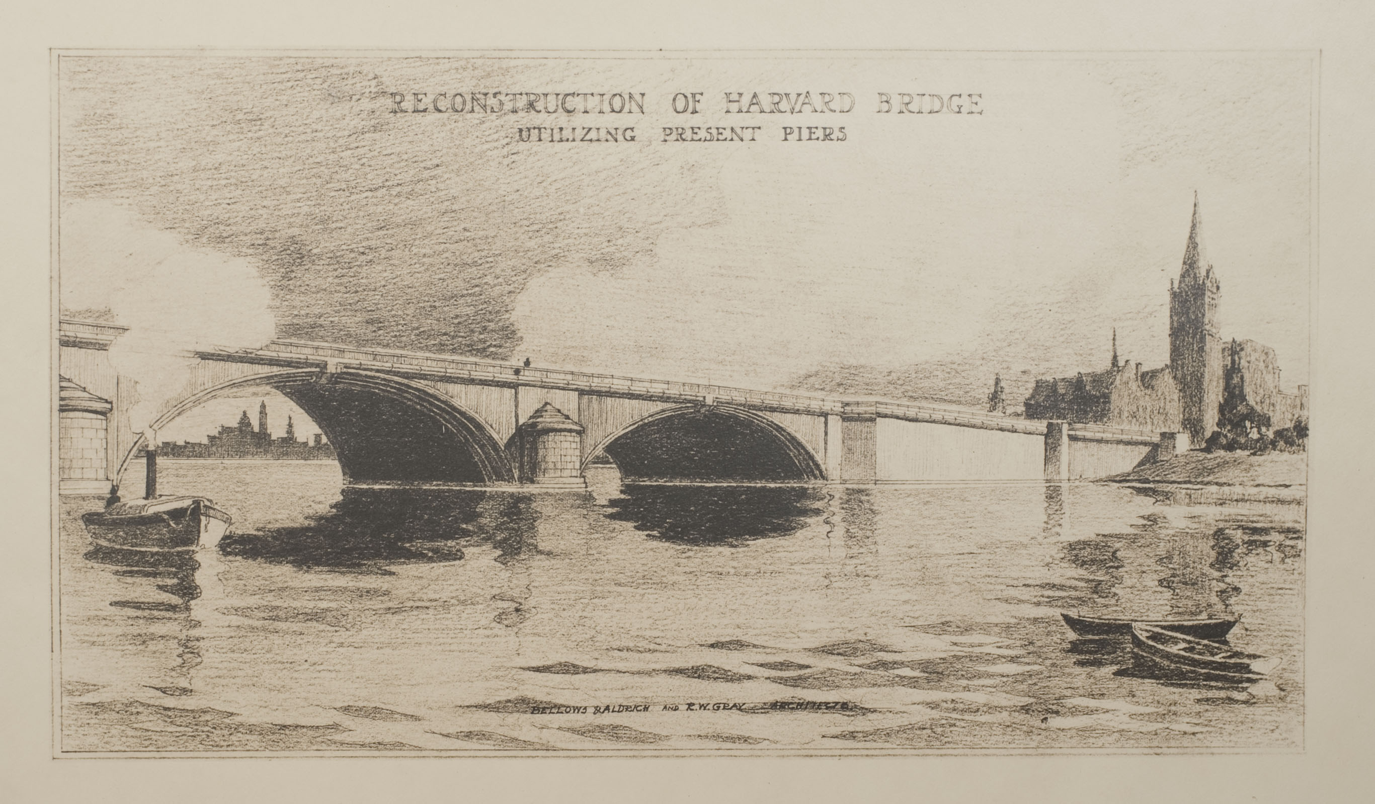 Reconstruction of Harvard Bridge
