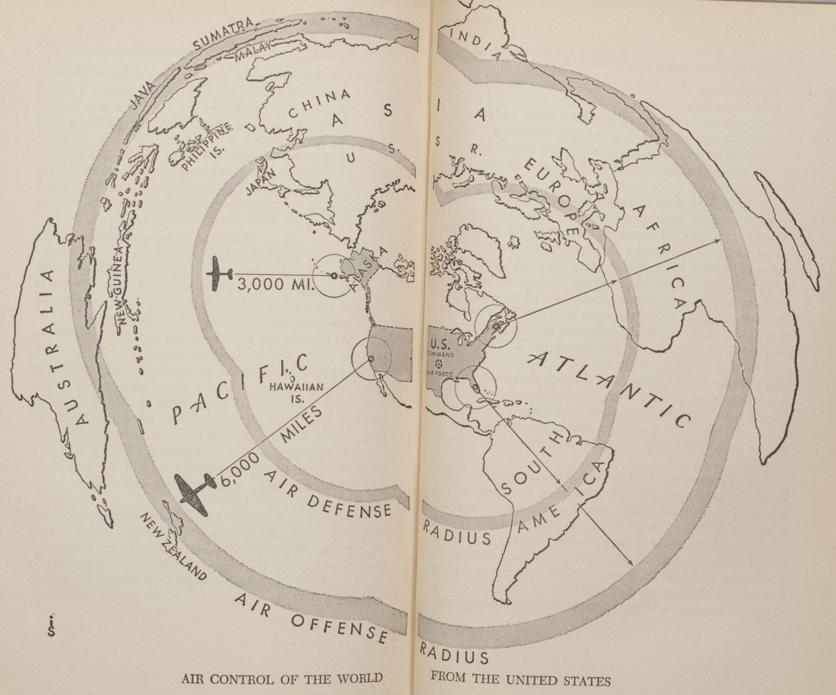 """Air control of the world from the United States"""