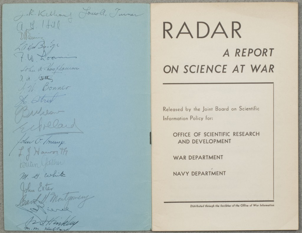 Title page and signatures