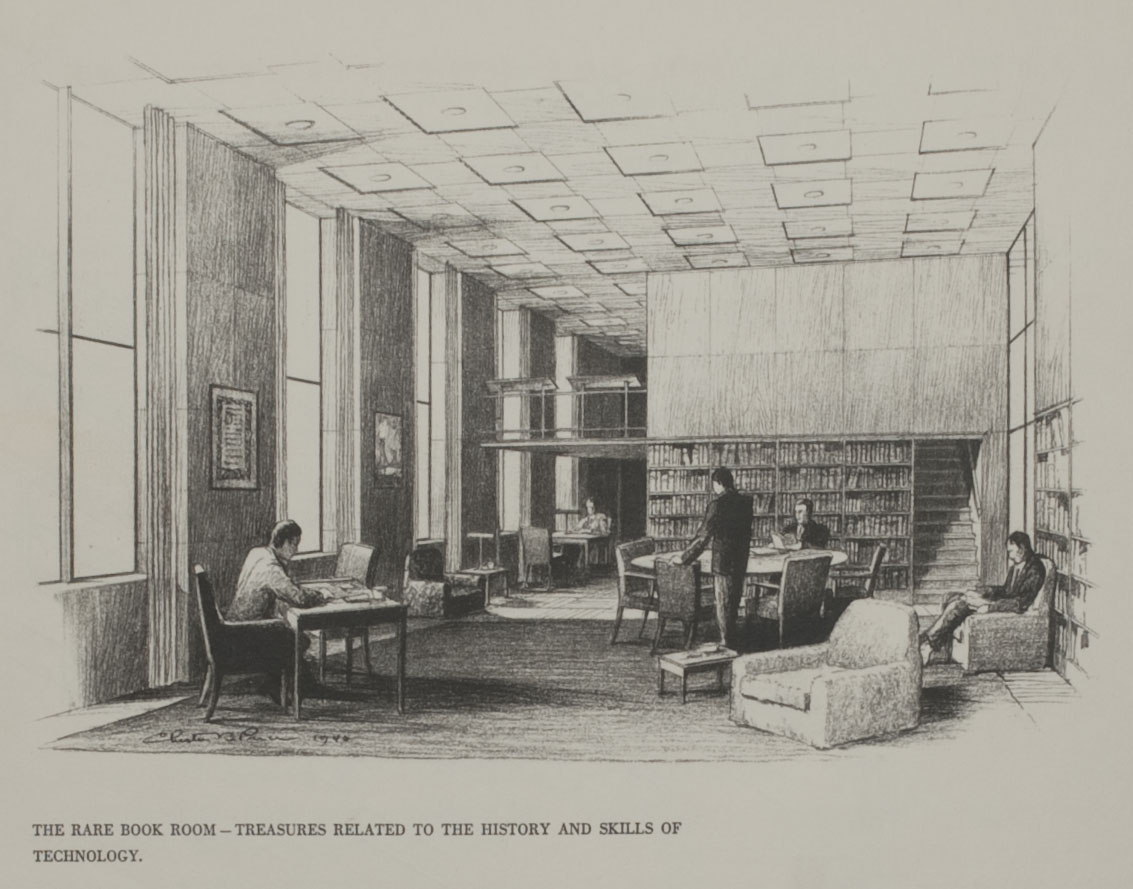 Planned Rare Book Room
