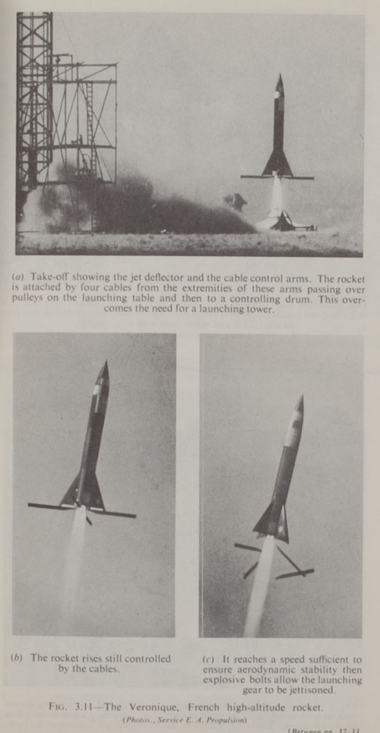 """The Veronique, French high-altitude rocket"""