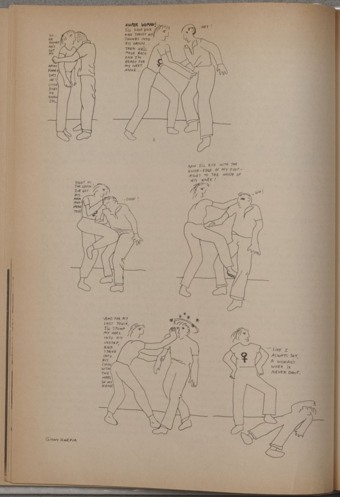 Self-defense instructions