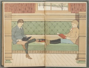 1908 - Children reading