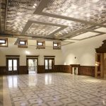 interior of the newly restored Stor Palace in Kabul.