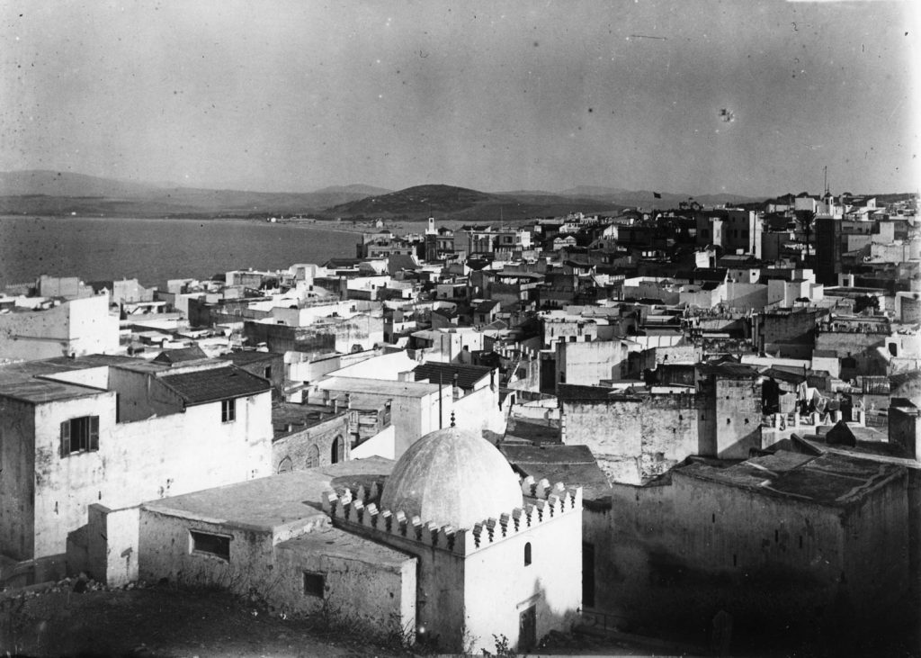 19th c. view of Tangier