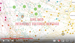 Screenshot of video on UNESCO's Intangible Cultural Heritage Mapping