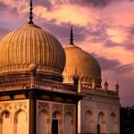 Image of two domed tombs in India