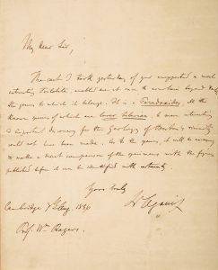 Letter to William B. Rogers