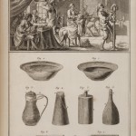 Plate I: Shop and tools of the Wigmaker-Barber
