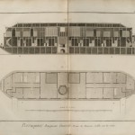 Plate XI: Commercial bathing boat on the Seine