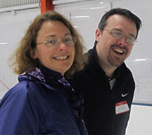 photo of Sara Gaucher and Jeff Morrow