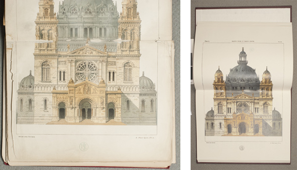 Preservation facsimile, before and after