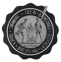 Athletics seal, 1951