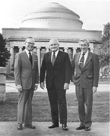 Howard W. Johnson, Paul E. Gray, and Jerome B. Wiesner