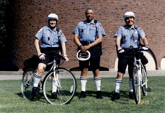 Photograph of Bicycle Patrol, undated