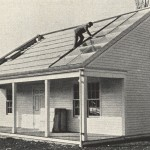 First solar house in the U.S., built at MIT, 1938