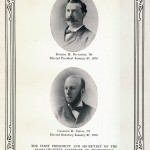 First Alumni Association President and Secretary, 1876