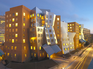 MIT's Stata Center, Photo by Andy Ryan