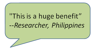 oa reader comment benefit researcher