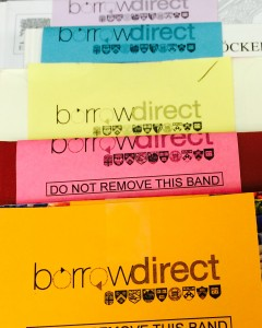 Borrow Direct bookbands
