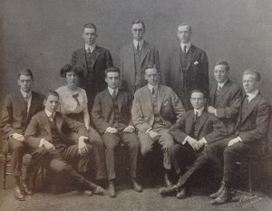 Officers of the Class of 1915
