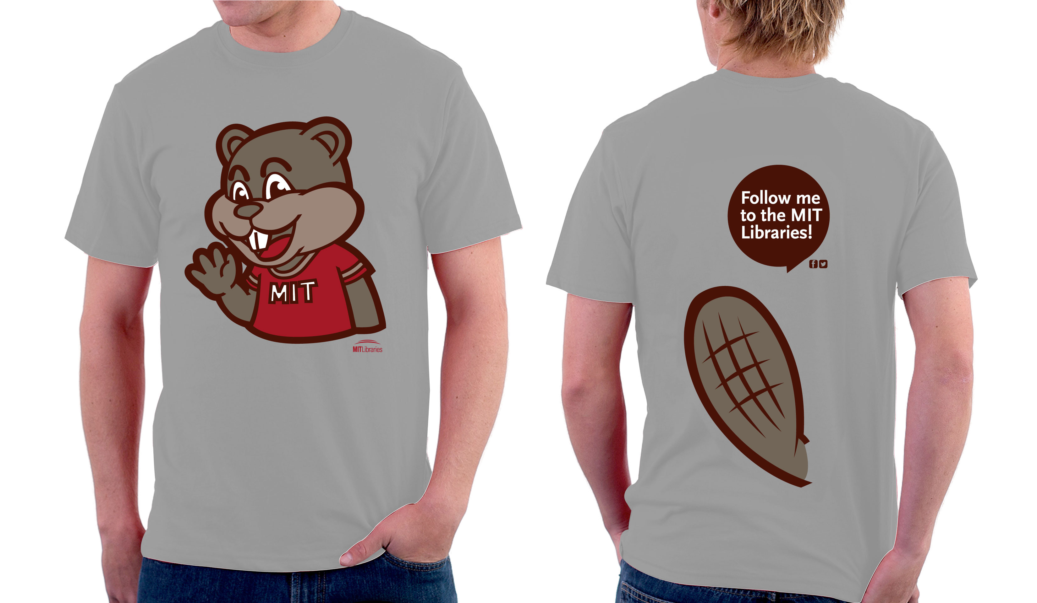 tim the beaver shirts are coming mit libraries news. Black Bedroom Furniture Sets. Home Design Ideas
