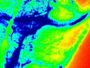 infrared map