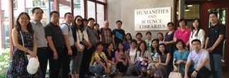 Libraries host Chinese colleagues