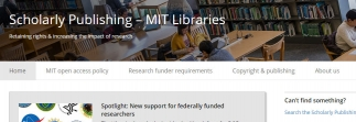 MIT Libraries launch new scholarly publishing website