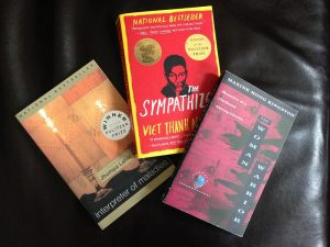 Three books by Asian/Pacific American authors
