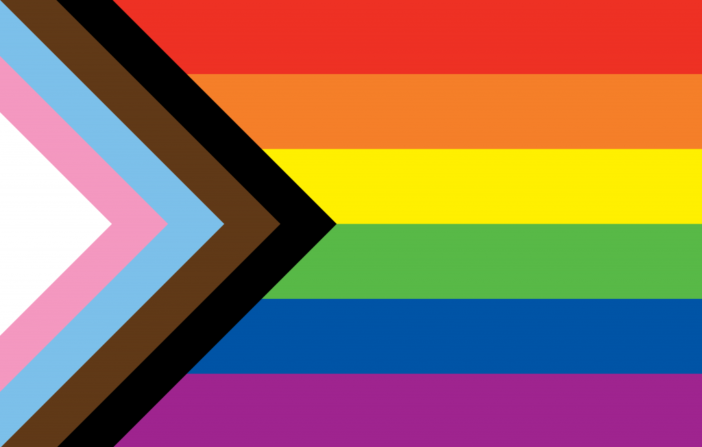 Progress Pride Flag by Daniel Quasar