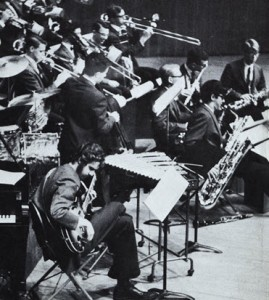 Photo of MIT Jazz band from MIT Musical Clubs brochure