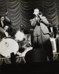 Pomeroy playing with Lionel Hampton
