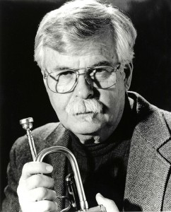 Pomeroy with trumpet