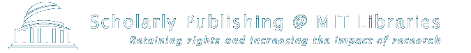 Scholarly Publishing – MIT Libraries