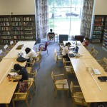 photo of Hayden Library study room