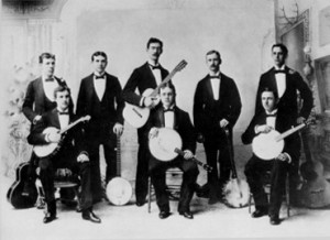 Photo of MIT Banjo Club, ca.1893