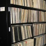 Photo of LP stacks