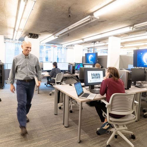 The new GIS Lab at the MIT Libraries